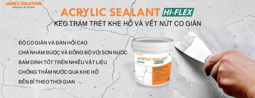 Keo vá tường Hi-flex Sealant