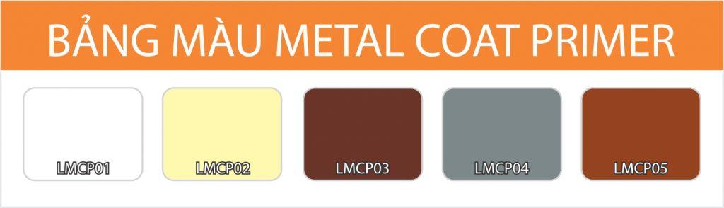 Bảng màu Lotus Metal Coat Primer
