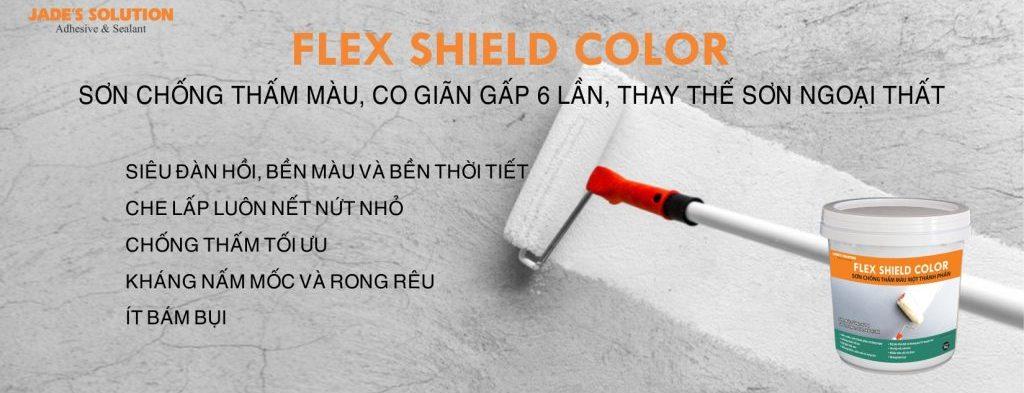 Sơn chống thấm màu Flex Shield Color