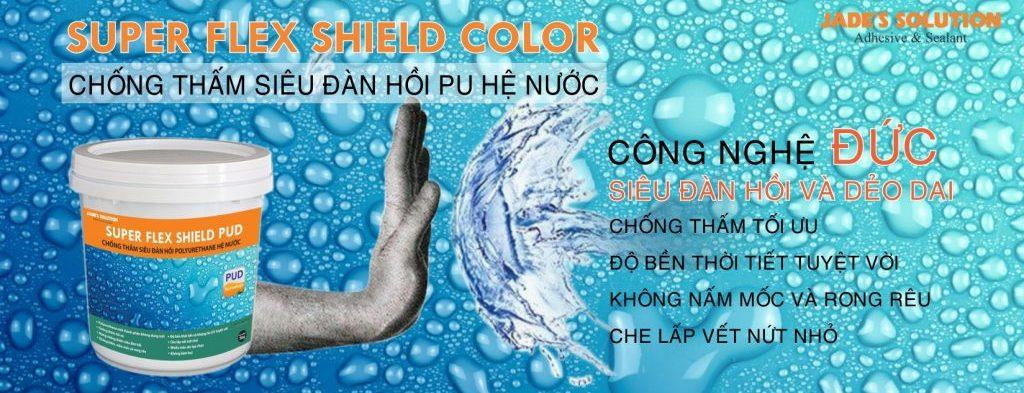Chống thấm siêu đàn hồi Super Flex Shield Color