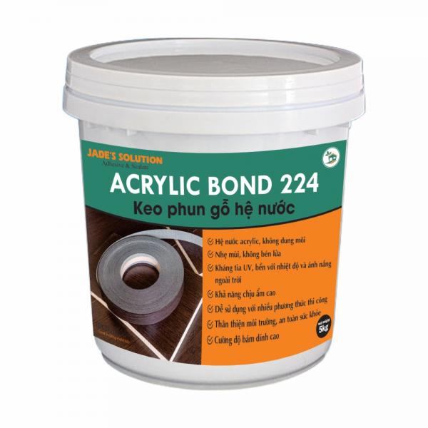 Keo Phun Gỗ Hệ Nước Acrylic Bond 224
