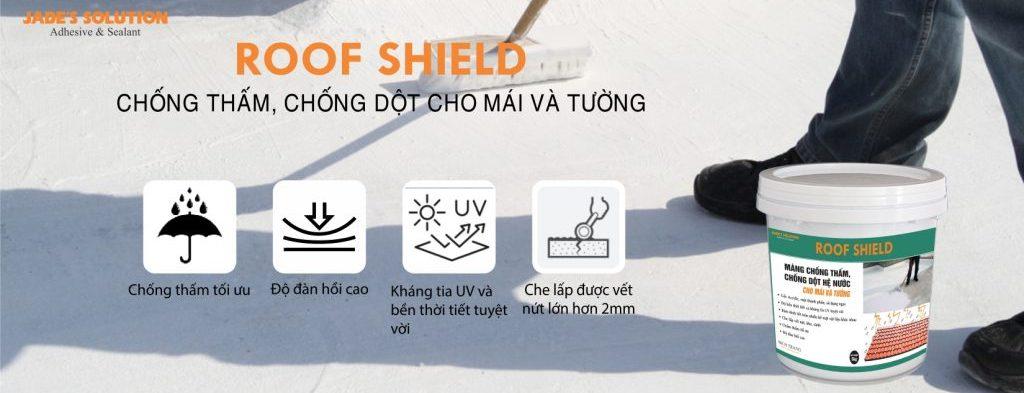 Chống thấm cho mái và tường Roof Shield