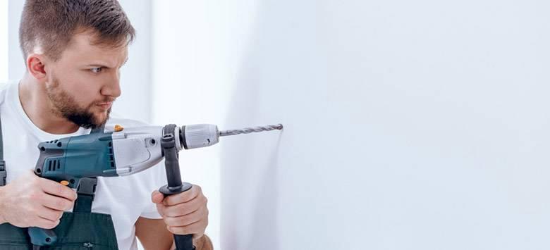 Trong trường hợp đường dây điện và nước của nhà bạn bị hỏng thì chắc chắn bạn cần phải đục tường để sửa chữa
