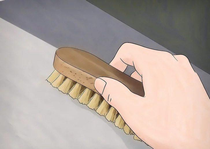 Làm sạch kỹ bề mặt bê tông trước khi chống thấm