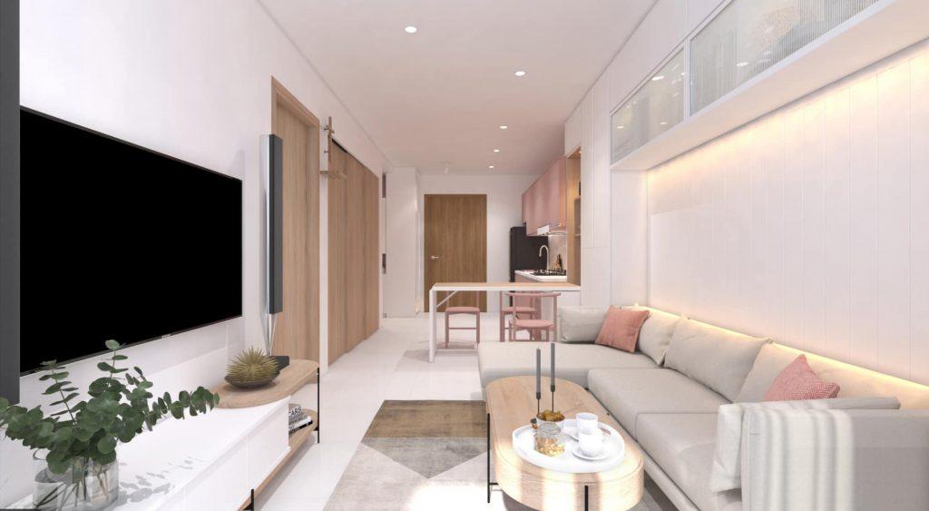 Mẫu la phong thạch cao đẹp dành cho phòng khách, phòng ngủ